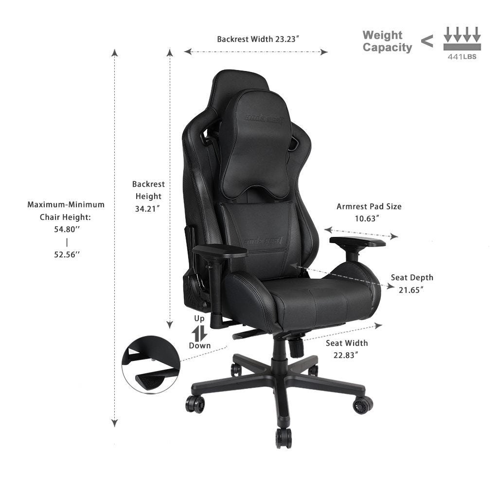 Outstanding Anda Seat Dark Knight Premium Gaming Chair King Of Gaming Pdpeps Interior Chair Design Pdpepsorg