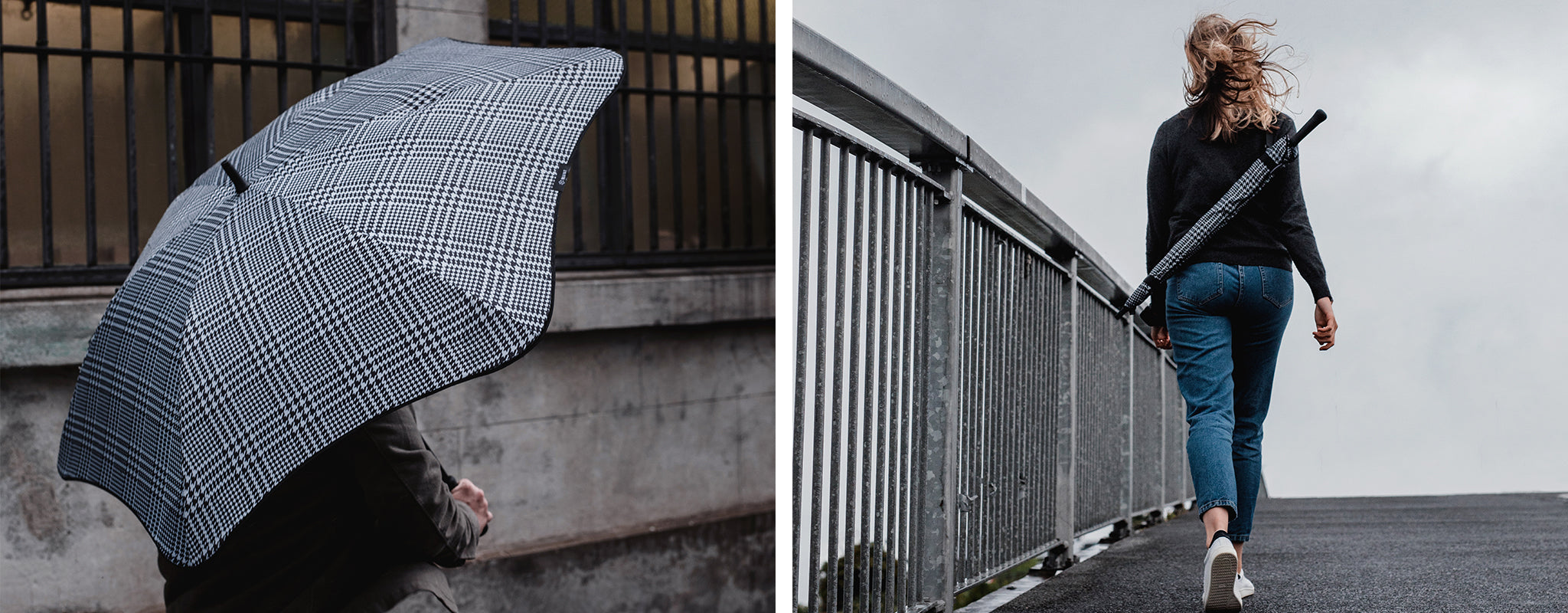 Blunt Umbrellas Houndstooth Umbrella