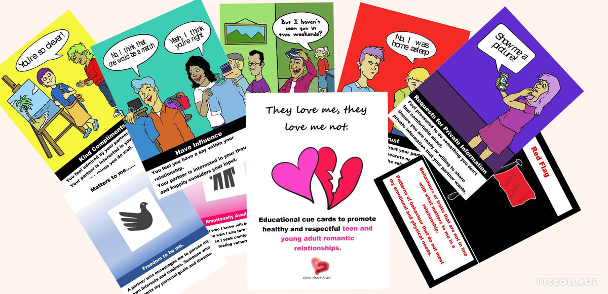 They love me, they love me not - education on healthy romantic relationships