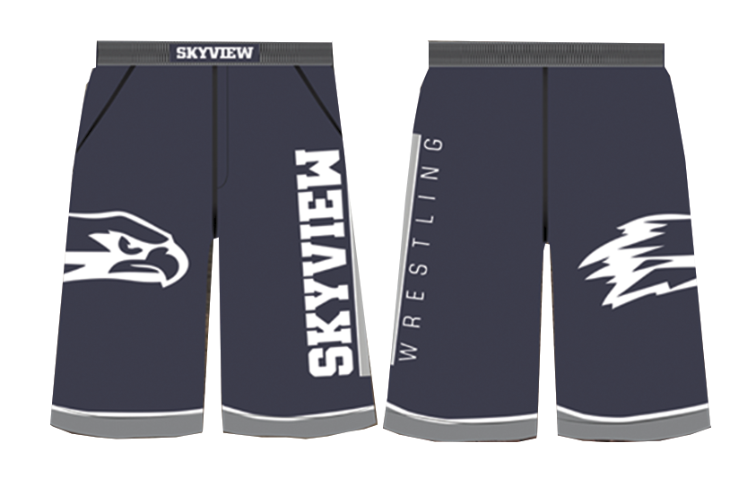 Skyview Wrestling Fight Shorts
