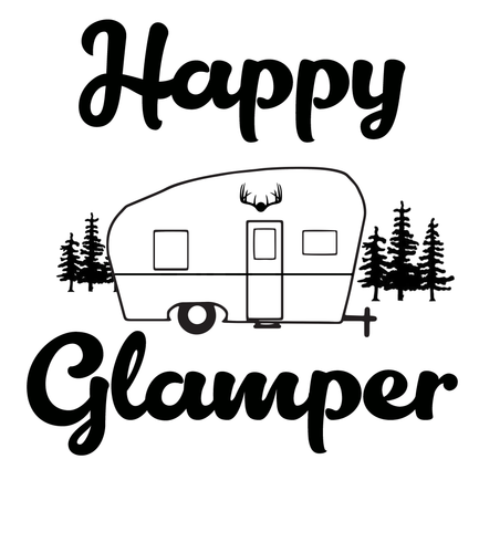 Happy Glamper Transfer Pack