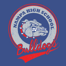 Load image into Gallery viewer, Nampa Bulldogs Ladies Shirt