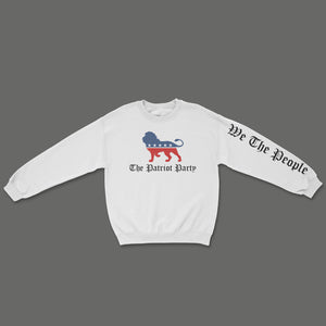 The Patriot Party Sweatshirt - White
