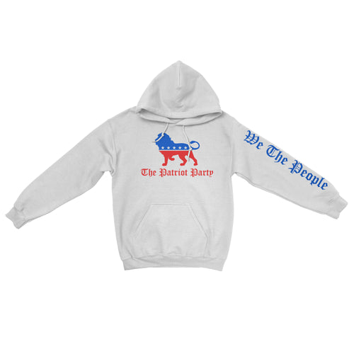 The Patriot Party Hoodie - White