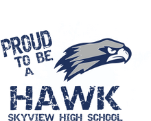 Load image into Gallery viewer, Skyview Proud to be a Hawk Hoodie