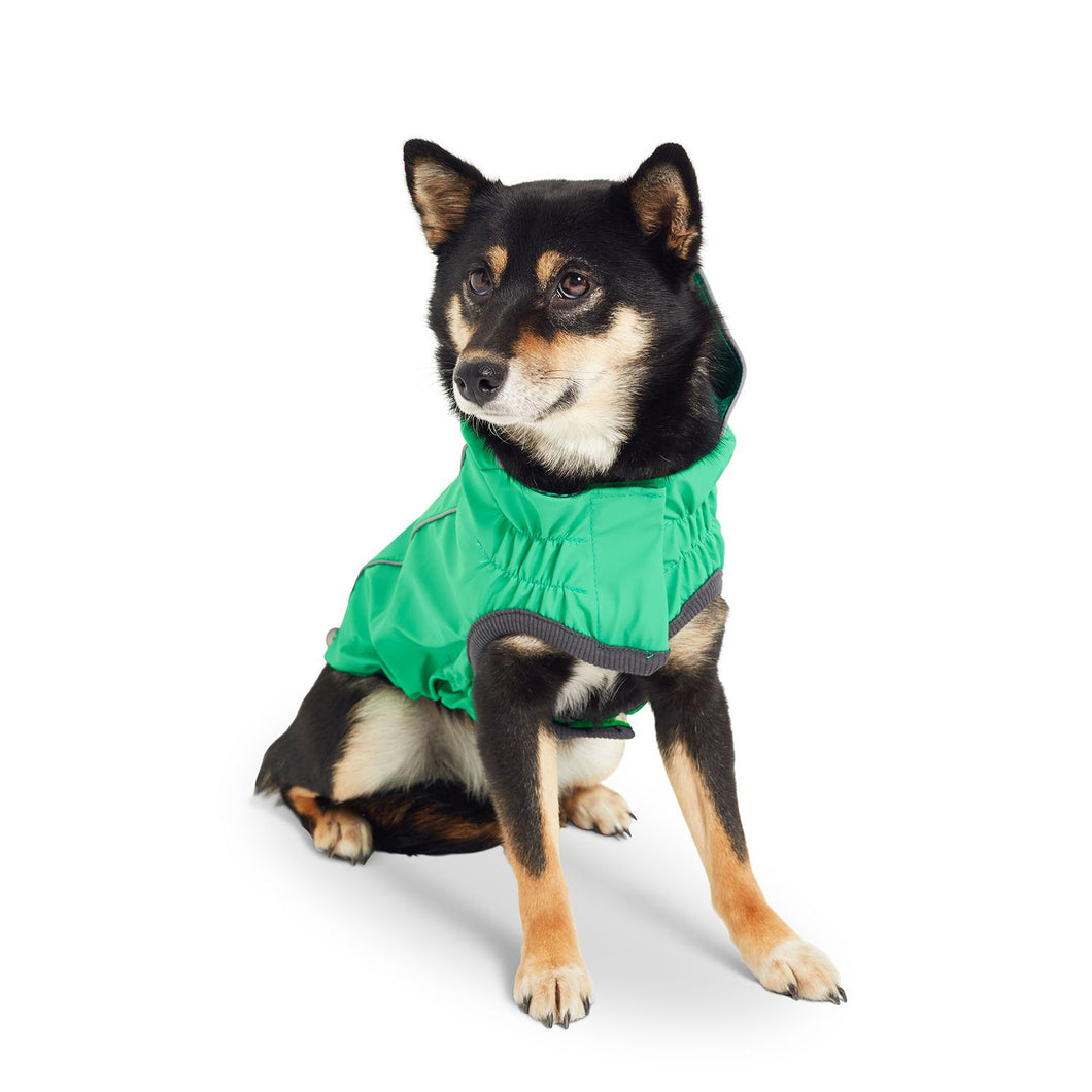 GF Pet - Reversible Rain Coat - Green