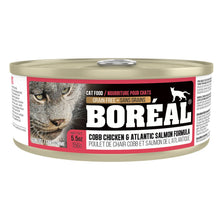 Load image into Gallery viewer, Boréal - Cobb Chicken & Atlantic Salmon - Grain Free - All Breeds Cat Food - Canadian Chicken - Atlantic Salmon - Made in Canada