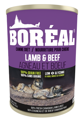 Boréal - Big Bear Lamb & Beef Dog Food - All Breed - Joint Support - Glucosamine Fortified - Low Glycemic - Limited Carbs - Potato Free - Made in Canada