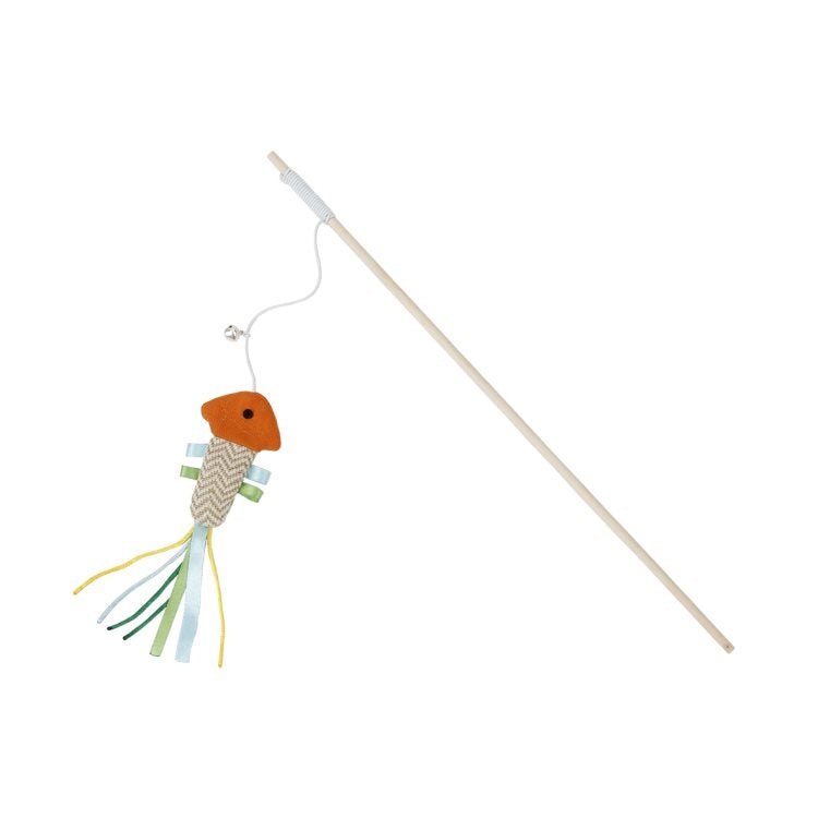 Bud'z - Swing Stick with Fish Cat Toy