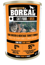 Load image into Gallery viewer, Boréal - Cobb Chicken & Heritage Turkey Cat Food - Grain Free - Free Run Chicken From Ontario & Quebec - Low Glycemic - Limited Carbs - Made in Canada