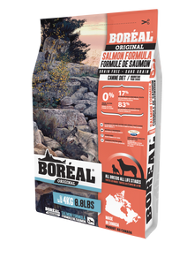 Boréal - Original Salmon Grain Free Dog Food - All Breed - North American Minerals - Naturally Preserved - Atlantic Salmon - Made in Canada