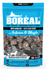 Load image into Gallery viewer, Boreal Dog Treats - Duck & Blueberry - Peanut Butter & Honey - Salmon & Maple - Skin & Coat - Grain Free - North American Mineral Pack - Potato Free