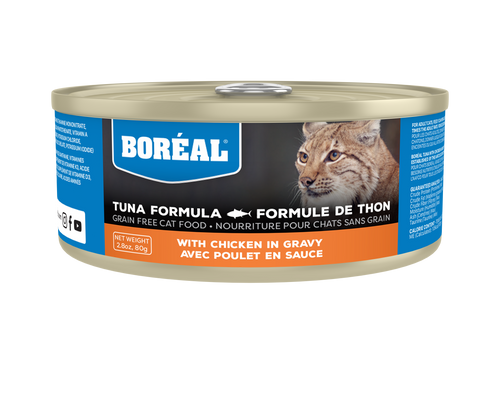 Boréal - Red Tuna with Chicken in Gravy Cat Food