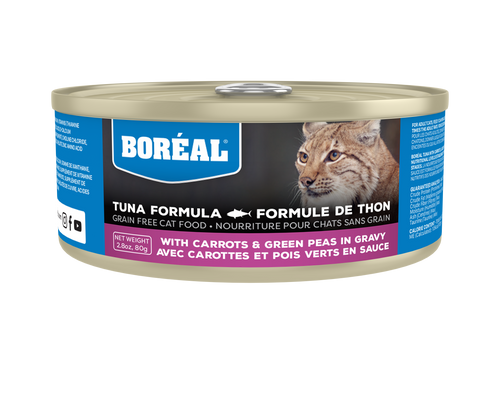 Boréal - Red Tuna, Carrot & Green Pea in Gravy Cat Food