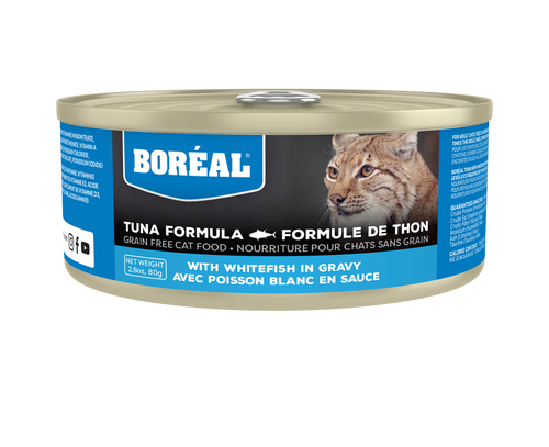 Boréal - Red Tuna with Whitefish in Gravy Cat Food