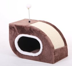 Bud'z - Snail Shelter with Sisal Toy