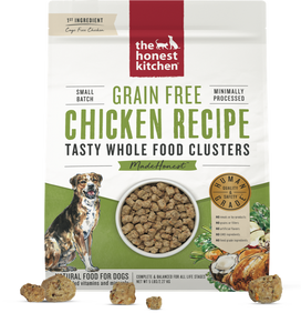 The Honest Kitchen - Chicken Whole Food Clusters for Dogs