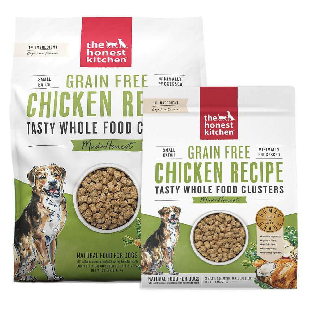 The Honest Kitchen - Chicken WHole Food Clusters