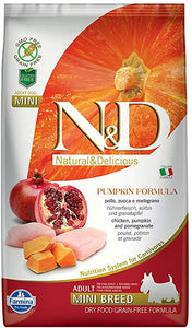 Farmina N&D - Chicken & Pomegranate with Pumpkin - Adult