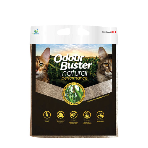 Odour Buster Natural Corn Cat Litter