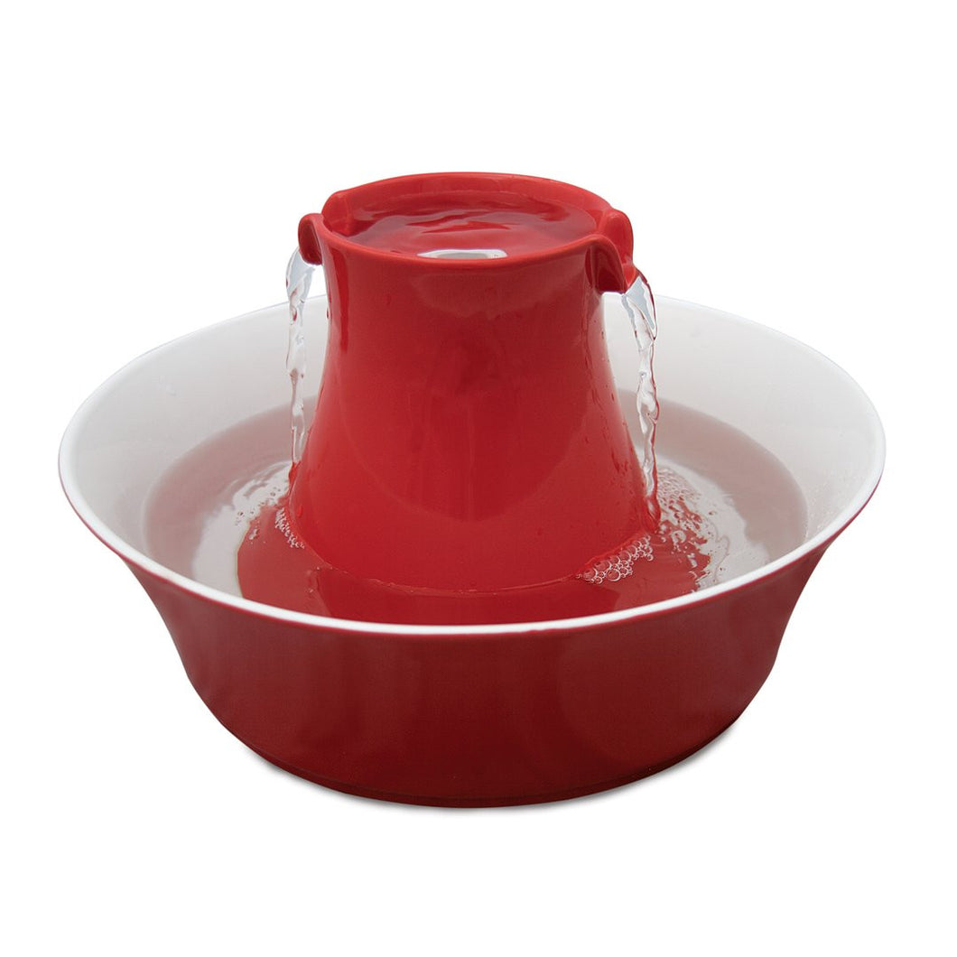 PetSafe - Drinkwell Avalon Pet Fountain - Red