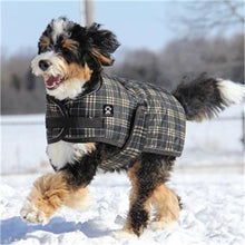 Load image into Gallery viewer, Shedrow K9 Glacier Dog Coat - Brown Plaid