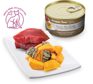 Snappy Tom Lites - Tuna & Pumpkin Cat Food - 3oz