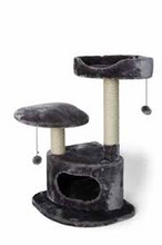 Load image into Gallery viewer, Bud'z - 3 Level Cat Tree - Grey