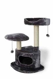 Bud'z - 3 Level Cat Tree - Grey