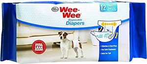 Four Paws - Wee Wee Disposable Diaper - Medium