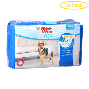 Four Paws - Wee Wee Disposable Diaper - Large