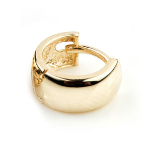 Open image in slideshow, 9ct Gold Mini Cartilage Huggie Earring