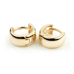 9ct Gold Mini Cartilage Huggie Earring - ZuZu Jewellery