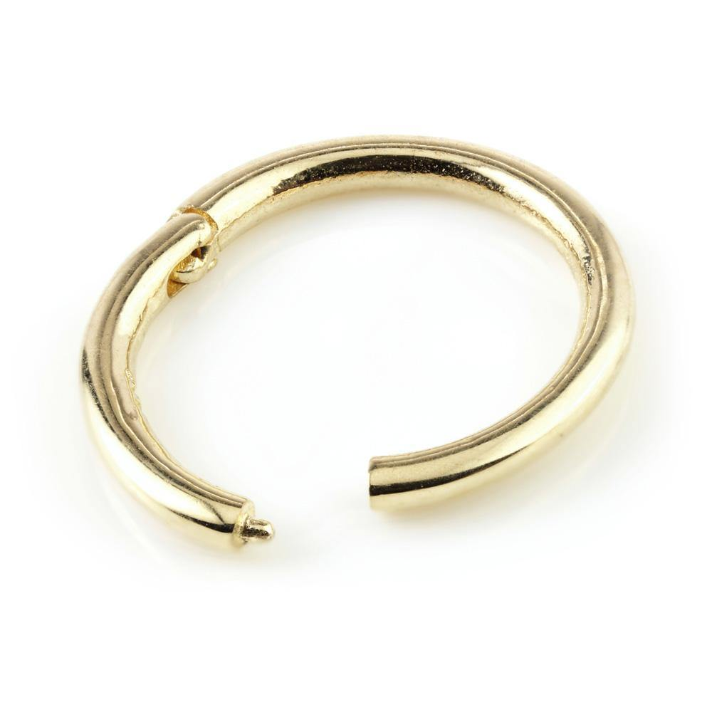 Gold Segment Hinge Ring (1.2mm)