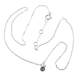 Leto Sterling Silver Black Labradorite & Moonstone Choker Necklace