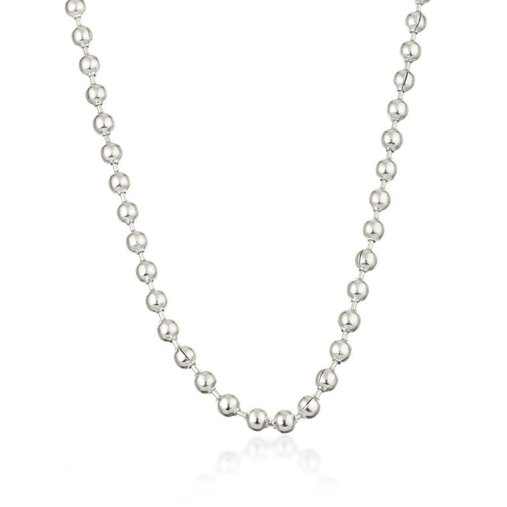 Steel Ball-Bead Necklace
