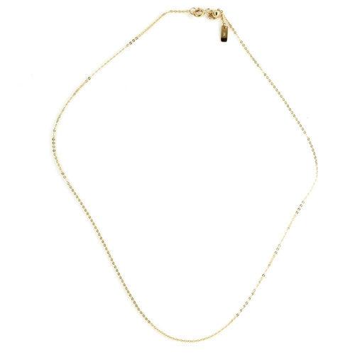 9ct Gold Dainty Chain Choker Necklace