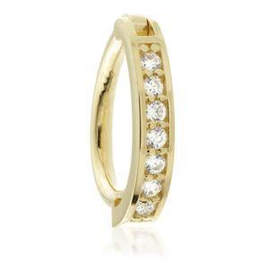 Open image in slideshow, Solid Gold Oval Channel Rook Ring