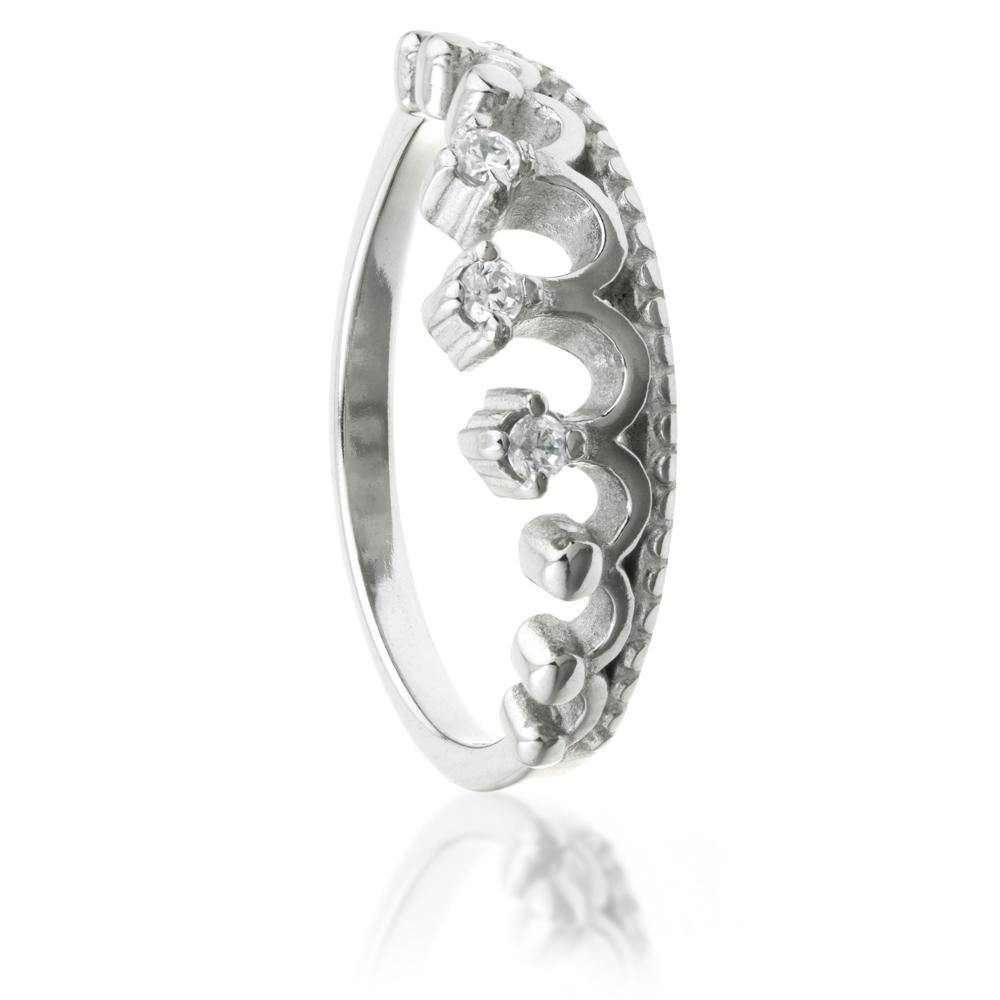 Jewel Princess Tiara Ring