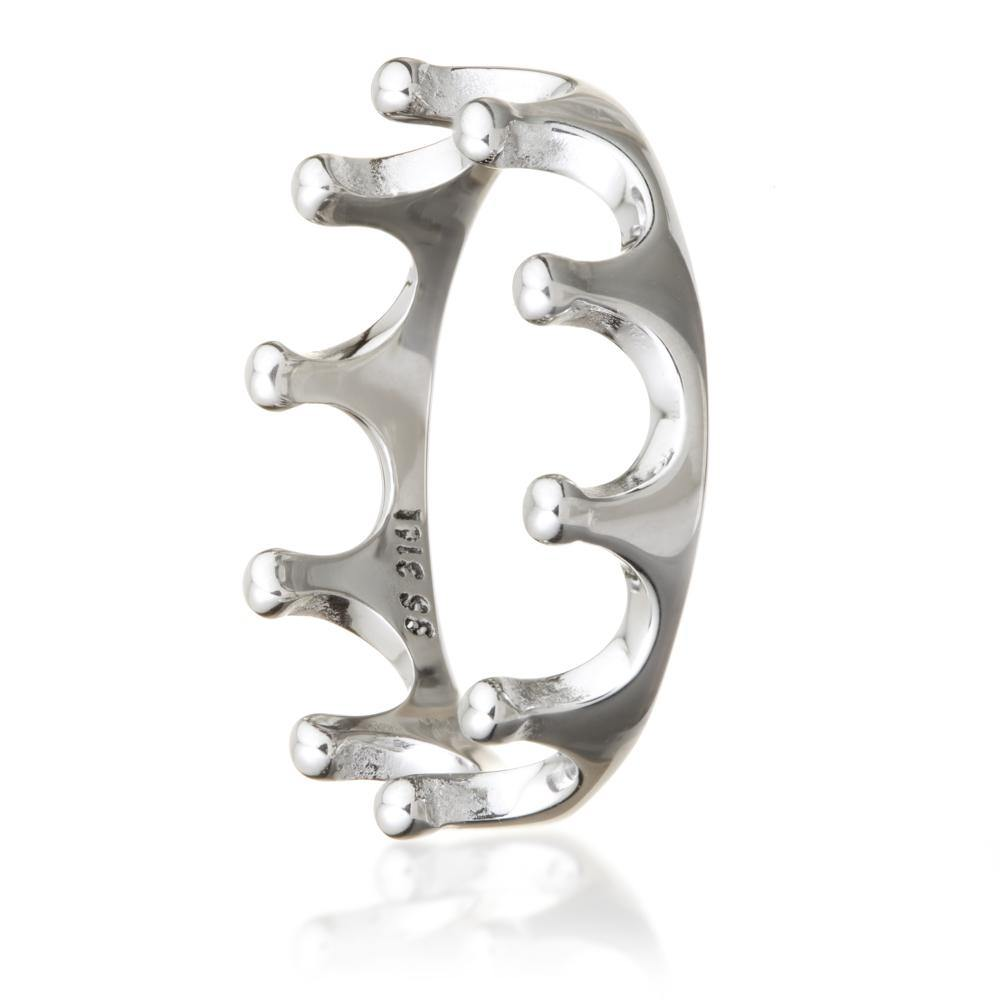 Steel Crown Ring