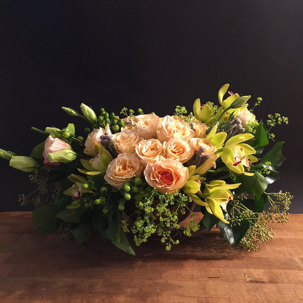 Voluptuous Flower Arrangement - same day flower delivery and gift crate basket delivery Manhattan Midtown NYC New York 10019 10022