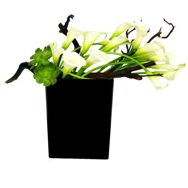 Calla Love Flower Arrangement same day flowers delivery Manhattan florist NYC