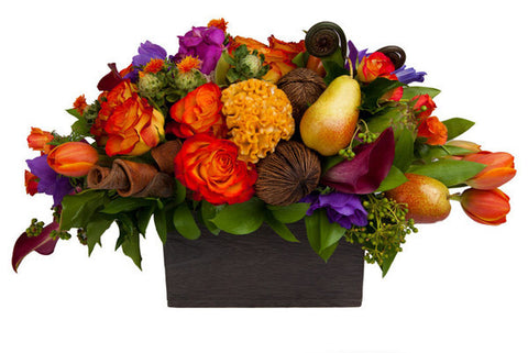 Opulence Flower Arrangement - same day flower delivery and gift crate basket delivery Manhattan NYC New York 10019 10022