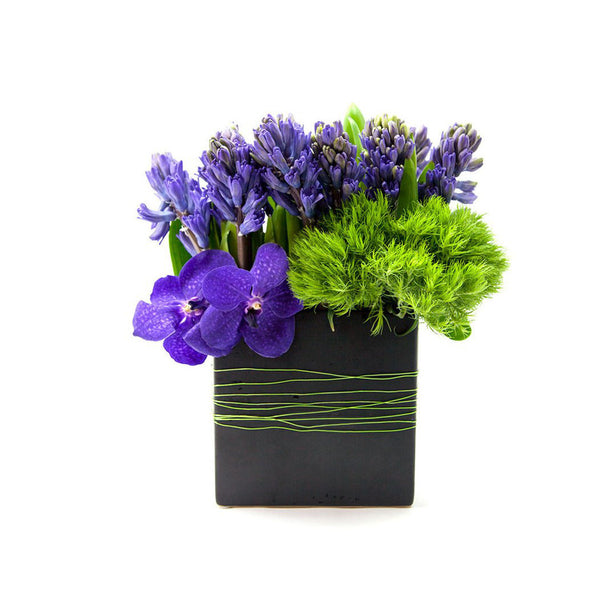 Ocean Breeze Flower Arrangement - same day flower delivery and gift crate basket delivery Manhattan NYC New York 10019 10022