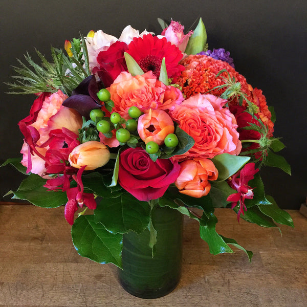 Radiance Flower Arrangement - same day flower delivery and gift crate basket delivery Manhattan NYC New York 10019 10022
