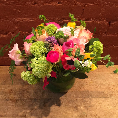 Natasha Flower Arrangement - same day flower delivery and gift crate basket delivery Manhattan NYC New York 10019 10022