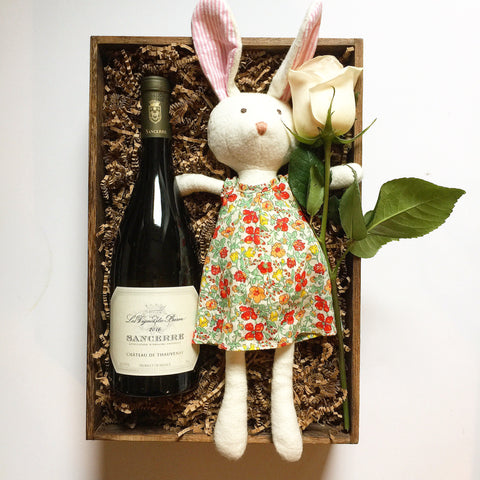 Bunny with Sancerre