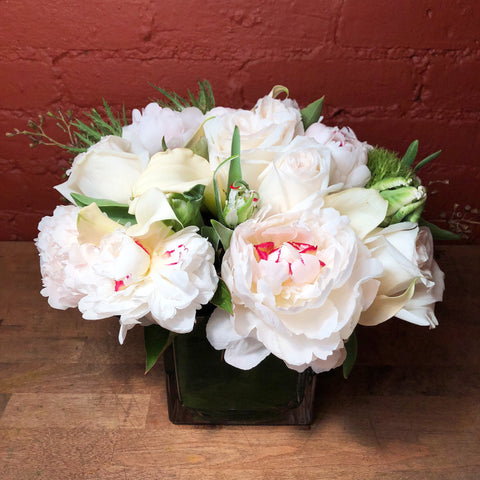 peonies and roses same day delivery nyc