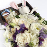 Alaric Flowers - Baby Gift Box - same day flower delivery nyc - orchids nyc - new york florist