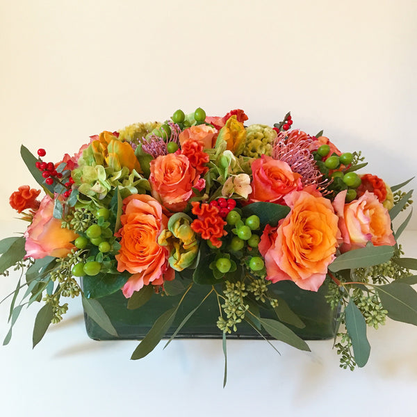 Autumn Spirit Flower Arrangement - Flower Delivery Manhattan, Same Day Flower Delivery NYC
